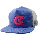 昇進のギフト刺繍が付いているカスタムPUのトラック運転手の帽子の急な回復の網の帽子
