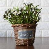 (BC-WF1021) 순수한 Handmade 자연적인 버드나무 꽃 바구니