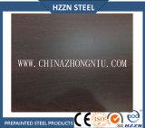 Rodillo de acero prepintado textura del roble