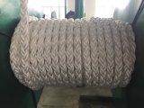 Die 8 Strang-chemische Faser Ropes Seil-Polyester-Seil PET Seil des Liegeplatz-Seil-pp.