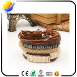 Bracelets en cuir d'unité centrale de type national en gros pour des cadeaux de mode