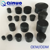 熱い販売の黒の高品質の円形のゴム製家具の足の先端