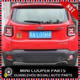 De auto Bijkomende ABS Materiële Zwarte Dekking van de Lamp van de Stijl Achter voor het Model van de Apostaat (2PCS/SET)
