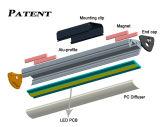 Het speciale LEIDENE Profiel van het Aluminium met de Levering aan eindgebruikers van de Magneet voor het Aansteken van Planken