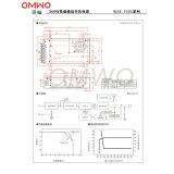 Bescheinigte kundenspezifisches Cer Wxe-350s-24 90 VDC Schaltungs-Stromversorgung