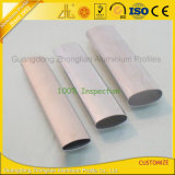 De Fabrikant die van het aluminium Profiel van de Buis van de Buis van het Aluminium het Elliptische Ovale leveren