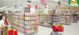 Plastikeinzelhandelsgeschäft-bequeme Supermarkt-Einkaufen-Laufkatze