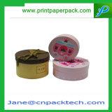 Boîte à papier ronde personnalisée Crème de parfum cosmétiques Boîte à emporter Cadeaux à chocolat