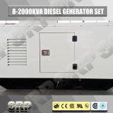 type insonorisé générateur diesel réglé se produisant diesel électrique de 225kVA 50Hz