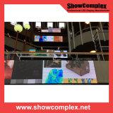 Indicador video fixo ao ar livre do diodo emissor de luz da cor cheia de P6 SMD