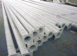 Aluminiumlegierung-Karosserien-Solarstraßenlaternemit Stahlpolen
