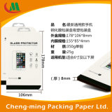 Caixa de empacotamento personalizada do presente da caixa de cartão com indicador do PVC