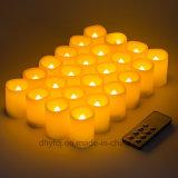 Flammenloses LED-versenkbares wasserdichtes Hochzeits-Dekoration-Partei-Tee-Licht