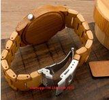 Vigilanza di legno Fs452 del movimento del quarzo di modo