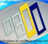 緩和されたおよびカラー印刷されたスイッチ・フレームガラス
