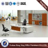 단단한 나무 사무실 테이블은 디자인한다 행정실 가구 (HX-6D099)를