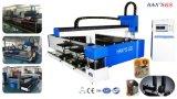 De automatische CNC Scherpe Machine van de Laser voor het Blad van het Metaal & Buis