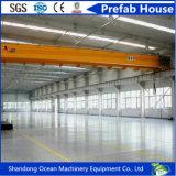 Полуфабрикат здание пакгауза мастерской стальной структуры большой пяди лучей высокого качества стальных