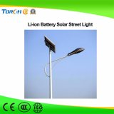 30W LED Light Parts Energia solar Geração de energia Street Light LED com