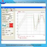 Equipo de prueba electrodinámico de tres ejes de la vibración del probador de la vibración de la sacudida de Xyz
