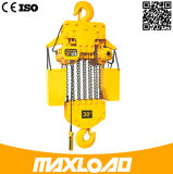 grua 380V Chain elétrica de 15t 5m com gancho