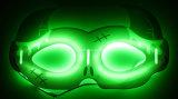 Nuova mascherina di incandescenza di figura del corno per Halloween