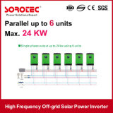 Potência baseada solar de alta freqüência do inversor com baixa tensão da bateria