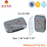 Ясная пластичная двойная бортовая коробка мухы удя
