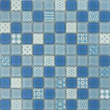 Azulejo de mosaico caliente del vidrio de mosaico de la venta para el suelo y la pared