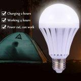 E27 7W LED 지능적인 전구 비상등 점화 램프 실내 점화