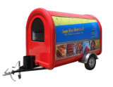 Equipo móvil del carro del alimento del estilo famoso mini para la venta