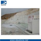 O fio do diamante da pedreira viu para o mármore e o granito