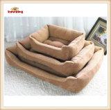 Het Bed van het Huisdier van de Stof van de Vacht van Berber van drie Grootte voor Hond