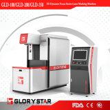 Wijd Gebruikte 3D Dynamische Non-Metal Laser die de Prijs van de Machine merken