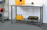 Tableau de fonctionnement commercial de dessus d'acier inoxydable de matériel de cuisine de restaurant d'hôtel 304#