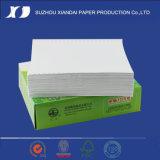 """Papier d'imprimerie de papier continu d'ordinateur de l'ordinateur """" X11 """" du papier 9.5 de listage d'ordinateur 11 """" X15 """""""