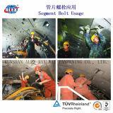 De Bout van de tunnel voor Concrete Ring bij de Bouw van de Tunnel