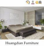 現代デザイン木の家具のホテルの寝室の家具(HD401)