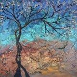 キャンバスの平和な森林油絵(モデルの卸し売りカスタムキャンバスプリント: No. Hx-4-009)