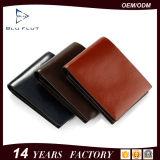 Fabrik-kundenspezifische echtes Leder-Kreditkarte-Halter-Mann-Großhandelsmappe