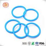 als 568 Blau-Silikon-Gummi-O-Ring mit RoHS Report