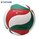 Voleibol que compite con desinflado gran apretón del material de la PU