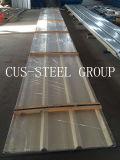 A placa ondulada/cor do ferro da cor perfilou a folha de aço da telhadura