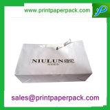 Sacco di carta di lusso di timbratura caldo del nastro del raso di Tailoerd