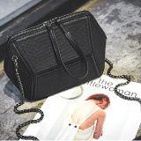 bolsa personalizada Irregularilly de couro Sy8482 das mulheres das senhoras da bolsa do plutônio do saco do crocodilo de alta qualidade
