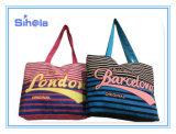 줄무늬 작풍 리버스 색깔 최신 판매 바닷가 화포 부대