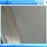 Engranzamento do disco do filtro do aço inoxidável usado na indústria