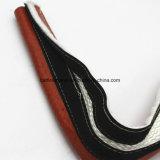 Manicotto a prova di fuoco della vetroresina rivestita della gomma di silicone con l'amo & il ciclo