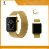 Venda milanesa de Iwatch del reemplazo de las vendas del bucle del acero inoxidable con el corchete magnético del encierro para la correa de la tira del reloj de Apple