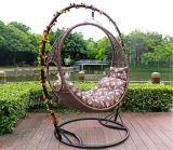 Silla moderna del oscilación de los muebles del jardín (HC628)